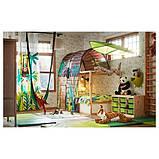 LÖVA ЛЕВА Навіс для ліжка - зелений - IKEA, фото 4