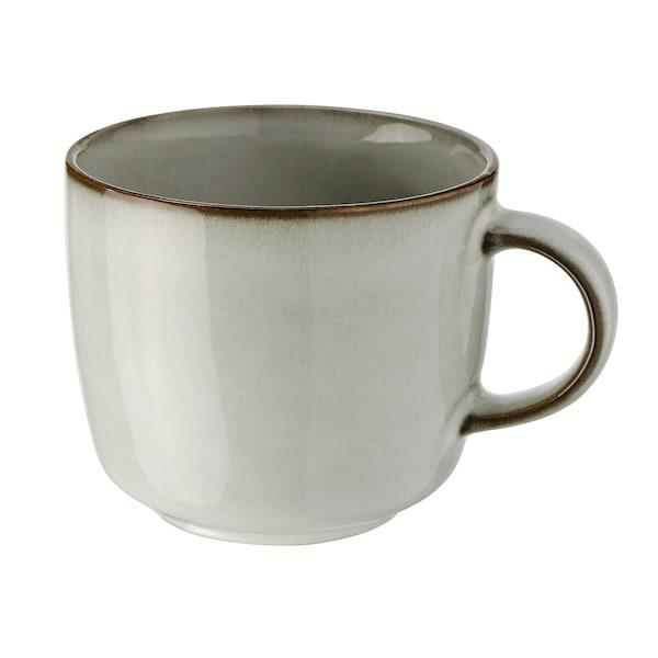 GLADELIG ГЛАДЕЛІГ Чашка - сірий - IKEA