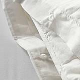 DVALA ДВАЛА Підковдра+2 наволочки - білий - IKEA, фото 4