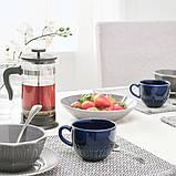 STRIMMIG СТРІММІГ Чашка - кераміка синій - IKEA, фото 2