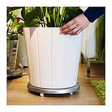 SOCKER СОКЕР Візок для рослин - для приміщення/вулиці/гальванізований - IKEA, фото 2