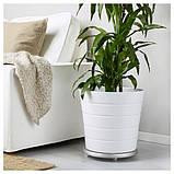 SOCKER СОКЕР Візок для рослин - для приміщення/вулиці/гальванізований - IKEA, фото 3