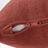 GRÖNLID ГРЕНЛІД 1-місна секція - ЛЬЙУНГЕН світло-червоний - IKEA, фото 3