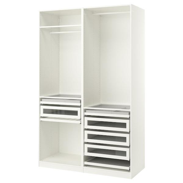 PAX ПАКС Гардероб, комбінація - білий - IKEA