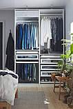 PAX ПАКС Гардероб, комбінація - білий - IKEA, фото 4