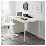 IKEA LINNMON / ALEX (399.326.99) Стол, белый, фото 2