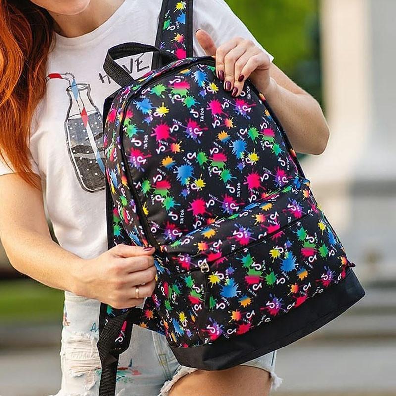 Рюкзак с принтом Tik Tok