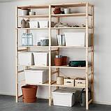 SOCKERBIT СОККЕРБІТ Коробка з кришкою  - білий - IKEA, фото 4