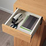 MICKE МІККЕ Письмовий стіл - під дуб - IKEA, фото 2