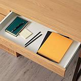 MICKE МІККЕ Письмовий стіл - під дуб - IKEA, фото 3