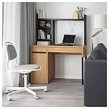 MICKE МІККЕ Письмовий стіл - під дуб - IKEA, фото 7
