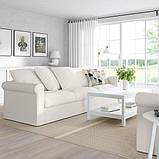 GRÖNLID ГРЕНЛІД 3-місний диван - ІНСЕРОС білий - IKEA, фото 2