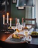 SÄLLSKAPLIG СЕЛЛШАПЛІГ Келих для вина - прозоре скло/із малюнком - IKEA, фото 6