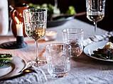 SÄLLSKAPLIG СЕЛЛШАПЛІГ Келих для вина - прозоре скло/із малюнком - IKEA, фото 8