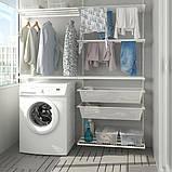BOAXEL БОАКСЕЛЬ 2 секції - білий - IKEA, фото 2