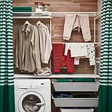 BOAXEL БОАКСЕЛЬ 2 секції - білий - IKEA, фото 5