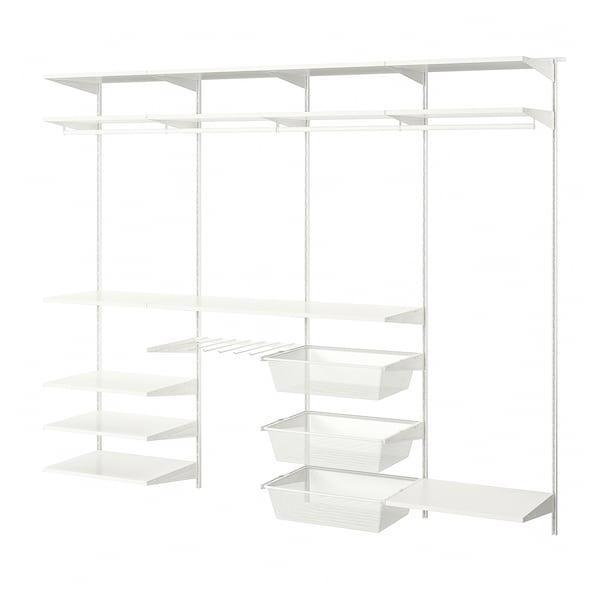 BOAXEL БОАКСЕЛЬ 4 секції - білий - IKEA