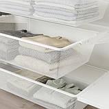 BOAXEL БОАКСЕЛЬ 4 секції - білий - IKEA, фото 5