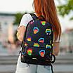 Рюкзак с принтом Губы, фото 3