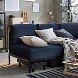 RÅVAROR РОВАРОР Кушетка з 1 матрацом - темно-синій/ХАМАРВІК жорсткий - IKEA, фото 6