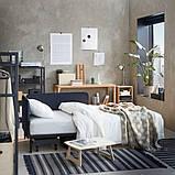 RÅVAROR РОВАРОР Кушетка з 1 матрацом - темно-синій/ХАМАРВІК жорсткий - IKEA, фото 8