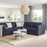 VIMLE ВІМЛЕ Кутовий диван, 4-місний - IKEA, фото 2