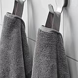 HIMLEÅN ХІМЛЕОН Банний рушник  - темно-сірий/меланж - IKEA, фото 3