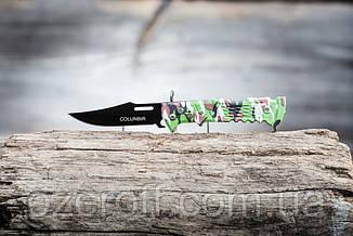 Карманный выкидной нож. Складной туристический нож 21 см