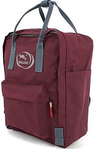 Рюкзак городской Wallaby 11 л бордовый