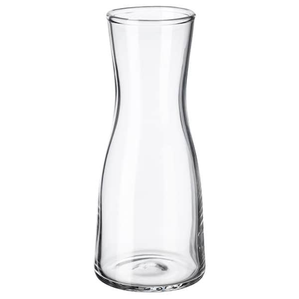 IKEA, ТИДВАТТИН, Ваза, прозрачное стекло, 14 см, (603.359.91)