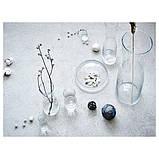 IKEA, ТИДВАТТИН, Ваза, прозрачное стекло, 14 см, (603.359.91), фото 5