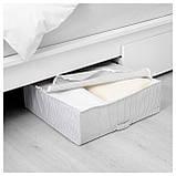 IKEA STUK (403.095.73) Контейнер для одежды/постельных принадлежностей, белый/серый, фото 2