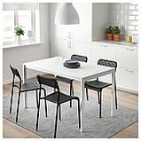 IKEA ADDE Стул, черный  (902.142.85), фото 2