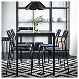 IKEA ADDE Стул, черный  (902.142.85), фото 3