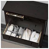 IKEA HEMNES (602.392.68) Комод, 6 ящиков, белый, фото 2