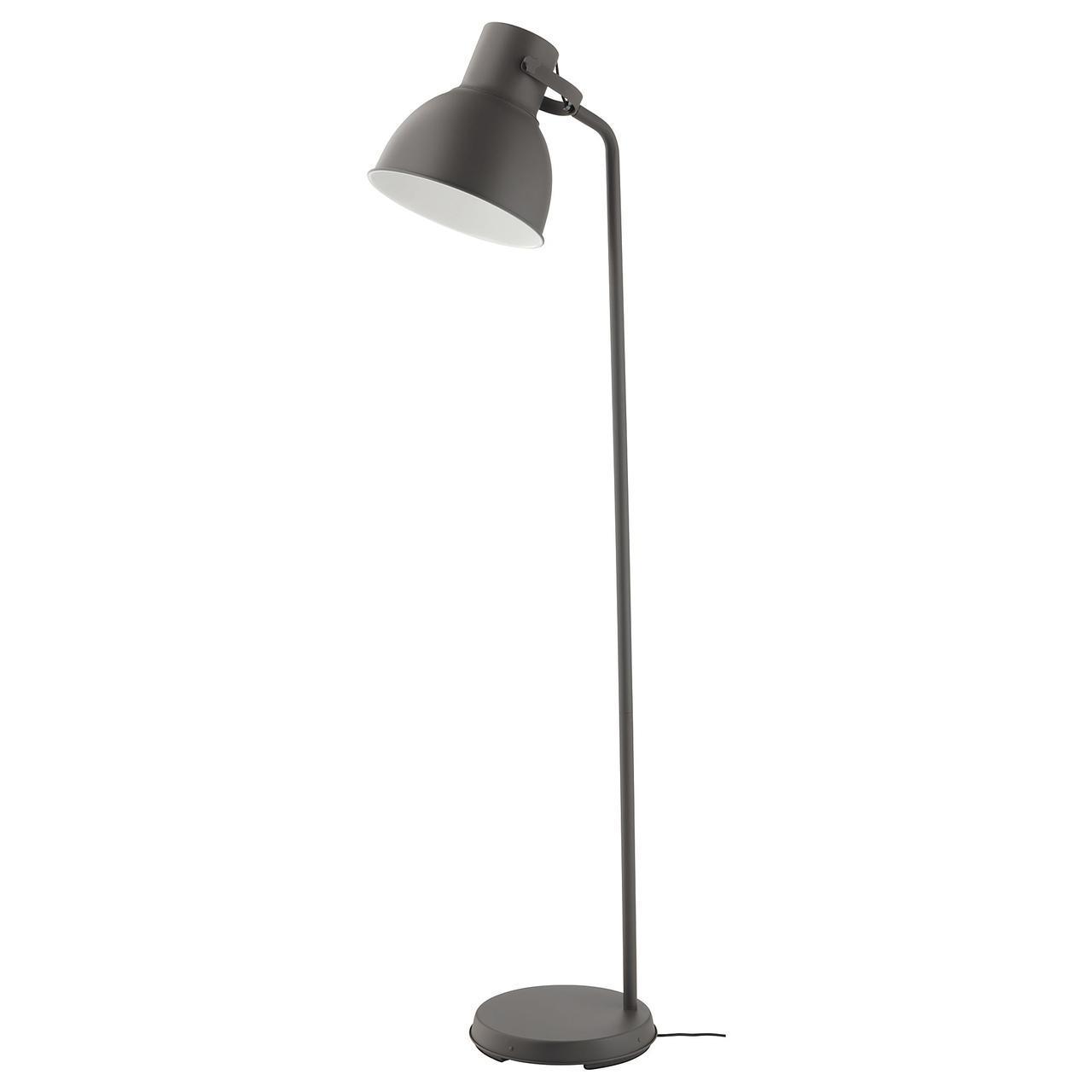 IKEA HEKTAR (002.153.07) Торшер темно-серый