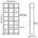 IKEA BILLY / OXBERG (892.177.27) Шкаф/Сервант, фото 3