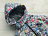 Комбинезон (термо) детский зимний ГРАФФИТИ, фото 3
