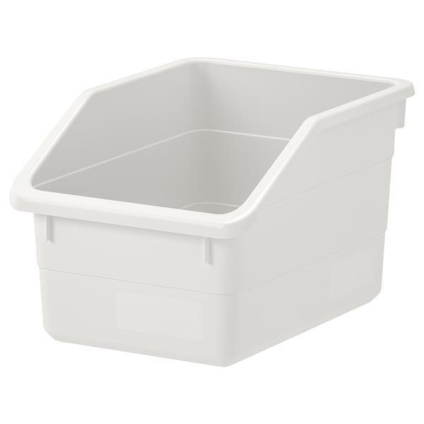 SOCKERBIT СОККЕРБІТ Коробка - білий - IKEA