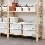 SOCKERBIT СОККЕРБІТ Коробка - білий - IKEA, фото 3