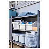 SOCKERBIT СОККЕРБІТ Коробка - білий - IKEA, фото 5