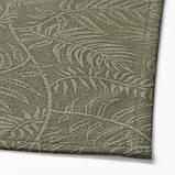 DOFTMINNE ДОФМІННЕ Скатертина+6 серветок - із малюнком/зелений - IKEA, фото 3