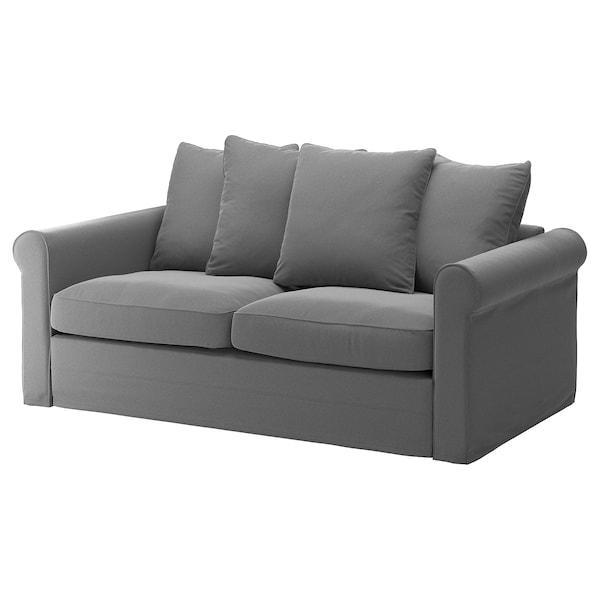 GRÖNLID ГРЕНЛІД Чохол для 2-місного дивана-ліжка - ЛЬЙУНГЕН класичний сірий - IKEA