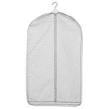 IKEA STUK (503.708.76) Чохол для одягу, 3 шт., Білий/сірий