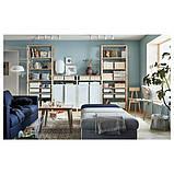 IVAR ІВАР 4 секції/полиці/шафа - сосна/білий - IKEA, фото 3