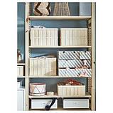 IVAR ІВАР 4 секції/полиці/шафа - сосна/білий - IKEA, фото 4