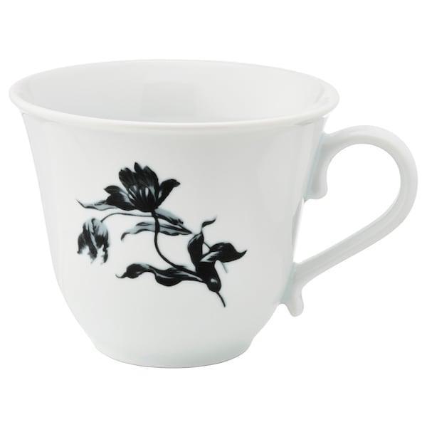 UPPLAGA УППЛАГА Чашка - білий/із малюнком - IKEA