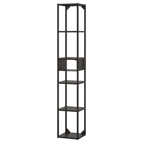 ENHET ЕНХЕТ Настінна комбінація для зберігання - антрацит - IKEA