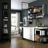 ENHET ЕНХЕТ Настінна комбінація для зберігання - антрацит - IKEA, фото 3