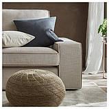 KIVIK КІВІК 3-місний диван - з кушеткою/ХІЛЛАРЕД бежевий - IKEA, фото 7